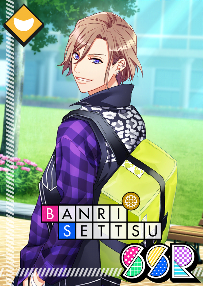 Banri Settsu SSR 【Bullet Filled with Conviction】
