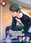 Tasuku Takato SSR Still, I Wait for You unbloomed
