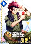Sakuya Sakuma SR Tin-Plated Memories bloomed