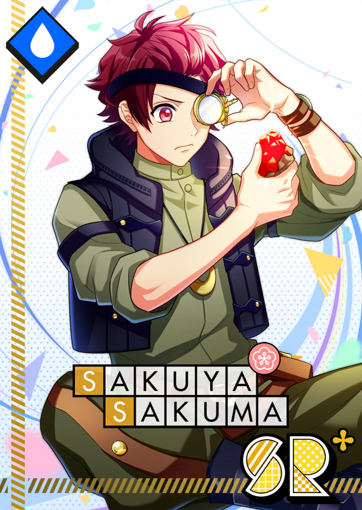 Sakuya Sakuma SR Tin-Plated Memories bloomed.png