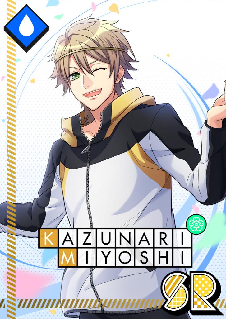 Kazunari Miyoshi SR About to Bloom unbloomed.png
