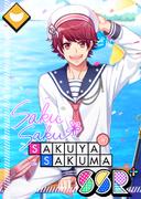 Sakuya Sakuma SSR Lucky Ship in a Bottle bloomed