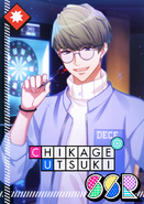 Chikage Utsuki SSR Mankai Birthday unbloomed