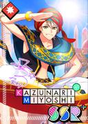 Kazunari Miyoshi SSR Hot Beats bloomed