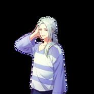 Azuma Yukishiro SSR In The Cool Breeze unbloomed transparent