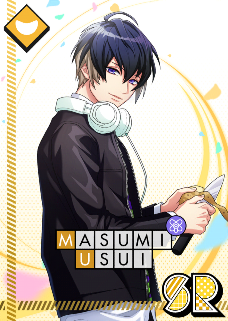 Masumi Usui SR With Love From the Kitchen unbloomed.png
