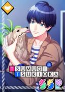 Tsumugi Tsukioka SSR Mankai Birthday unbloomed