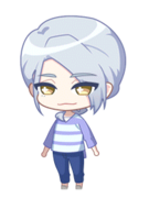 Azuma In the Cool Breeze unbloomed chibi