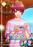 Sakuya Sakuma SSR Lucky Ship in a Bottle unbloomed