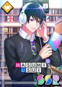 Masumi Usui SSR Mankai Birthday unbloomed