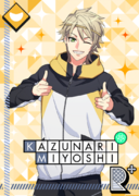 Kazunari Miyoshi R Standing Rehearsal bloomed