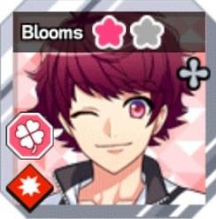 Original card bloomed