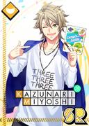 Kazunari Miyoshi SR An Adventure Full of Likes! unbloomed