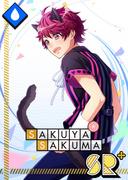 Sakuya Sakuma SR Mischievous Cat bloomed