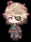 Itaru A Clockwork Heart chibi