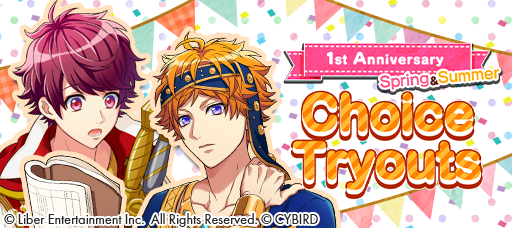 1st Anniversary- Spring & Summer Choice Tryouts banner.png