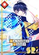 Masumi Usui SR Pure Love Illusion bloomed