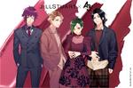 A3! x JILLSTUART Collaboration Visual