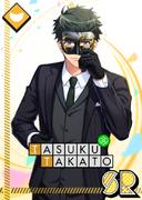 Tasuku Takato SR Gorgeous Masquerade unbloomed