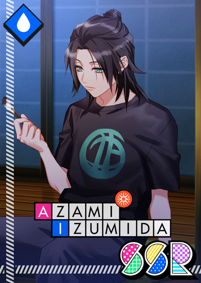 Azami Izumida SSR Autumn Night on the Porch unbloomed.png