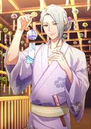 Azuma Yukishiro SSR In The Cool Breeze bloomed raw
