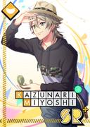Kazunari Miyoshi SR An Adventure Full of Likes! bloomed