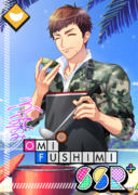 Omi Fushimi SSR Cooking in Unexplored Lands bloomed