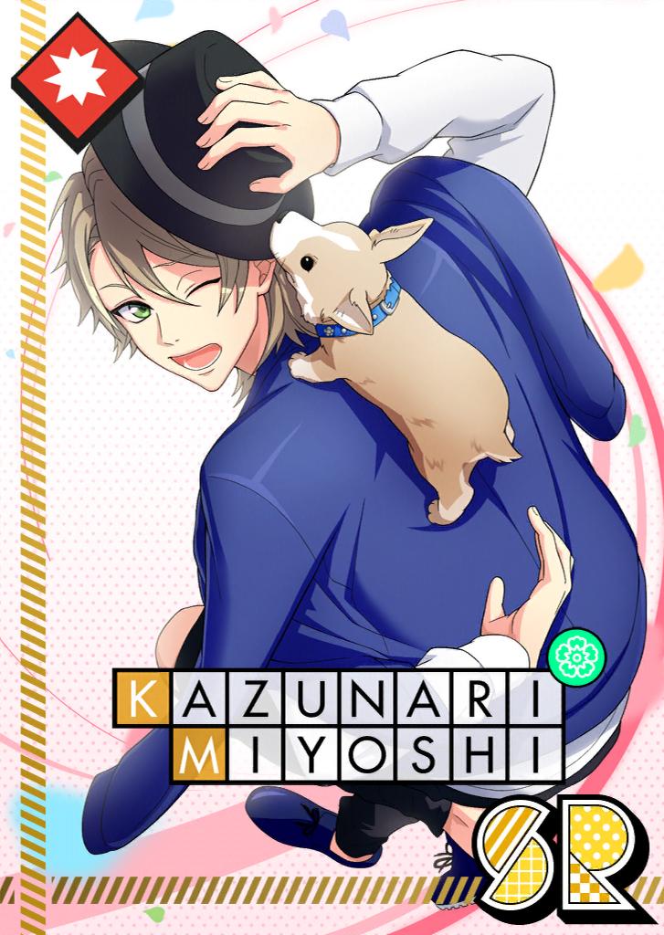 Kazunari Miyoshi SR 【Infatuated Corgi】
