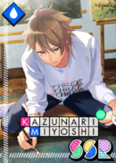 Kazunari Miyoshi SSR Passion Held in the Details unbloomed