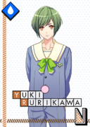 Yuki Rurikawa N St. Flora Junior High School unbloomed