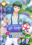 Tasuku Takato SSR Mankai Birthday bloomed