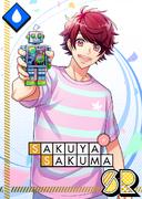 Sakuya Sakuma SR Tin-Plated Memories unbloomed