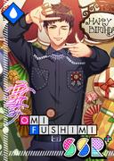 Omi Fushimi SSR Mankai Birthday bloomed