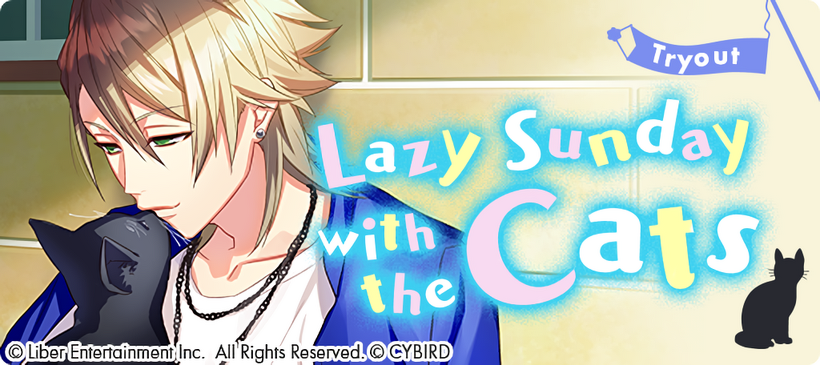 Lazy Sunday with the Cats Tryouts banner