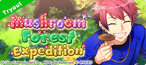 Mushroom Forest Expedition Tryouts banner
