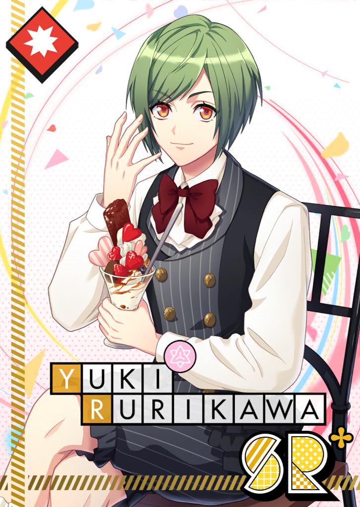 Yuki Rurikawa SR Delicious Heart Parfait bloomed.png