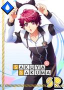 Sakuya Sakuma SR Mischievous Cat unbloomed