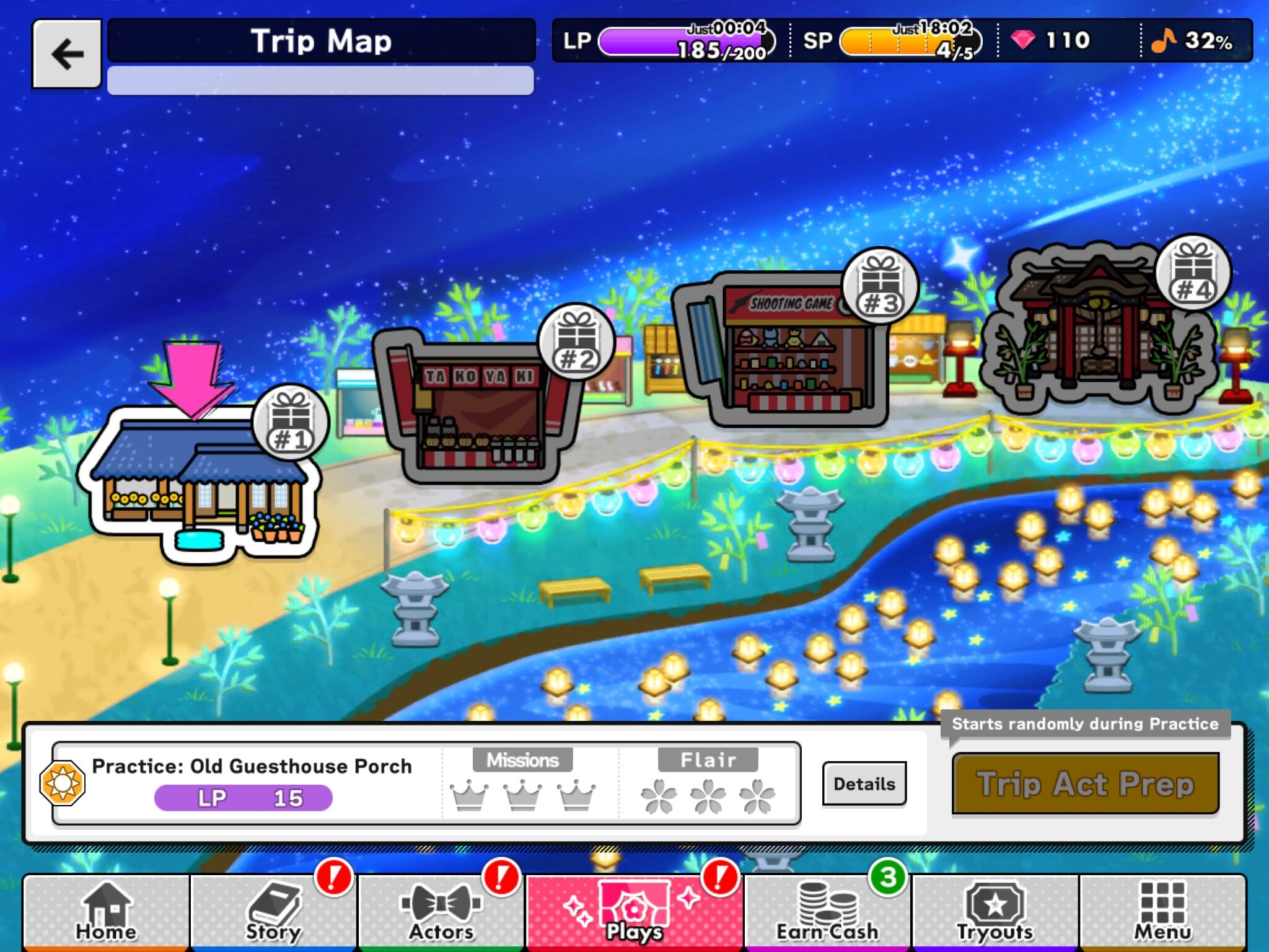 Trip Map (example)