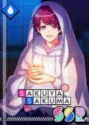 Sakuya Sakuma SSR Gentle Light unbloomed