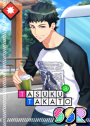 Tasuku Takato SSR Life of Meeting Only to Part unbloomed