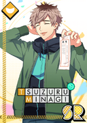Tsuzuru Minagi SR Starting the New Year Right unbloomed