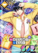 Masumi Usui SSR Mankai Birthday bloomed