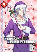 Azuma Yukishiro R Violet Santa bloomed