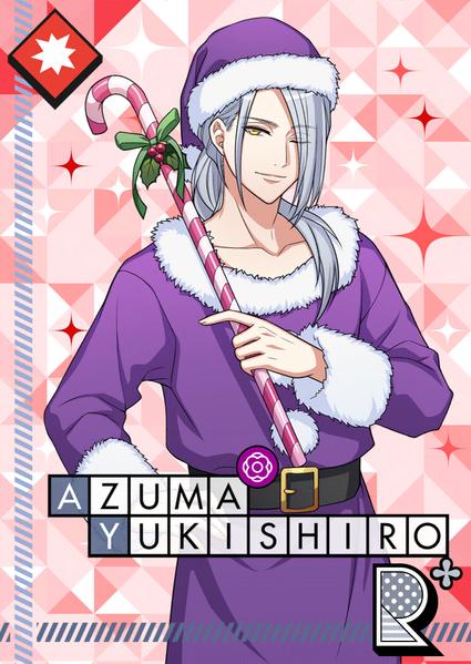 Azuma Yukishiro R Violet Santa bloomed.png