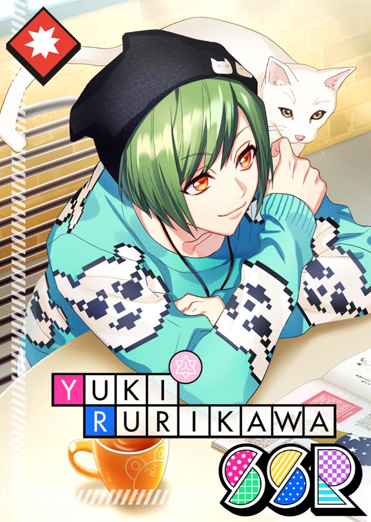 Yuki Rurikawa SSR Selfish Feline unbloomed.png