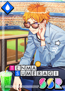 Tenma Sumeragi SSR Incognito Day Game unbloomed