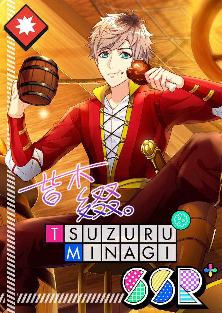 Tsuzuru Minagi SSR Attack of the Minagis bloomed.png