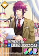 Homare Arisugawa SSR A Fine Day for a Wedding unbloomed