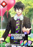Masumi Usui SSR First Love Riding Club unbloomed