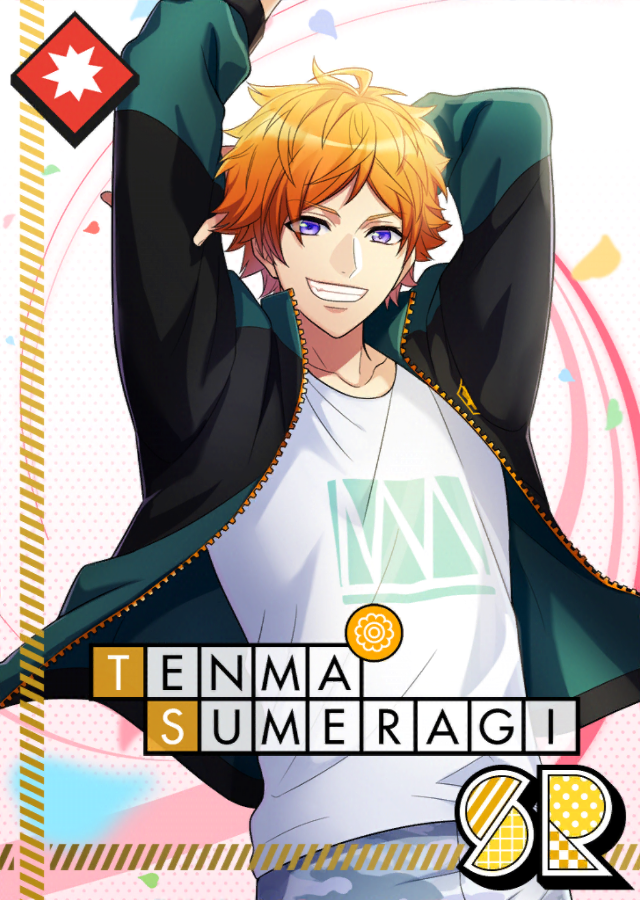 Tenma Sumeragi SR About to Bloom unbloomed.png